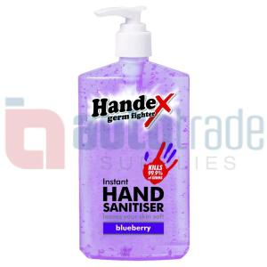 SHIELD HANDEX BLUEBERRY 300ML