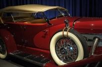DUESENBERG MODEL SJ LAGRANDE DUAL-COWL PHAETON 1935 Dit is de enige SJ met een LaGrande-carrosserie. Naar verluid de duurste auto ter wereld!
