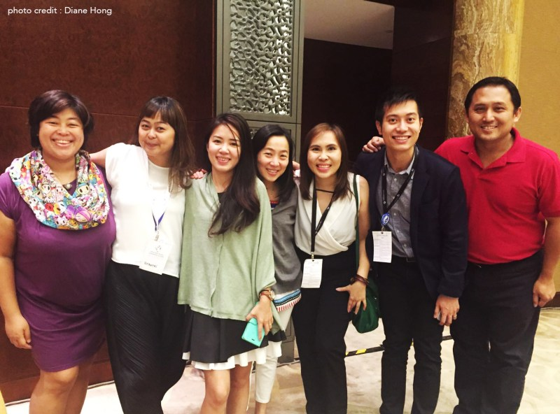 With some of our awesome Onedrop team who always have our back