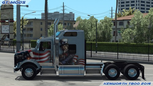 small resolution of gt mods kenworth t800 2016 v0 5 1 for 1 2