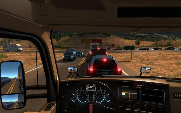 Traffic Density V1 Fliptop72 Ets 2 And Ats Mods - Year of