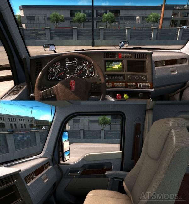 Kenworth T680 Interior American Truck Simulator Mods