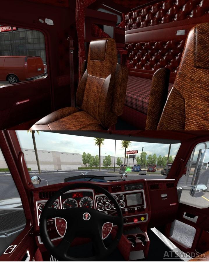 Kenworth W900 Interior V 11 American Truck Simulator Mods