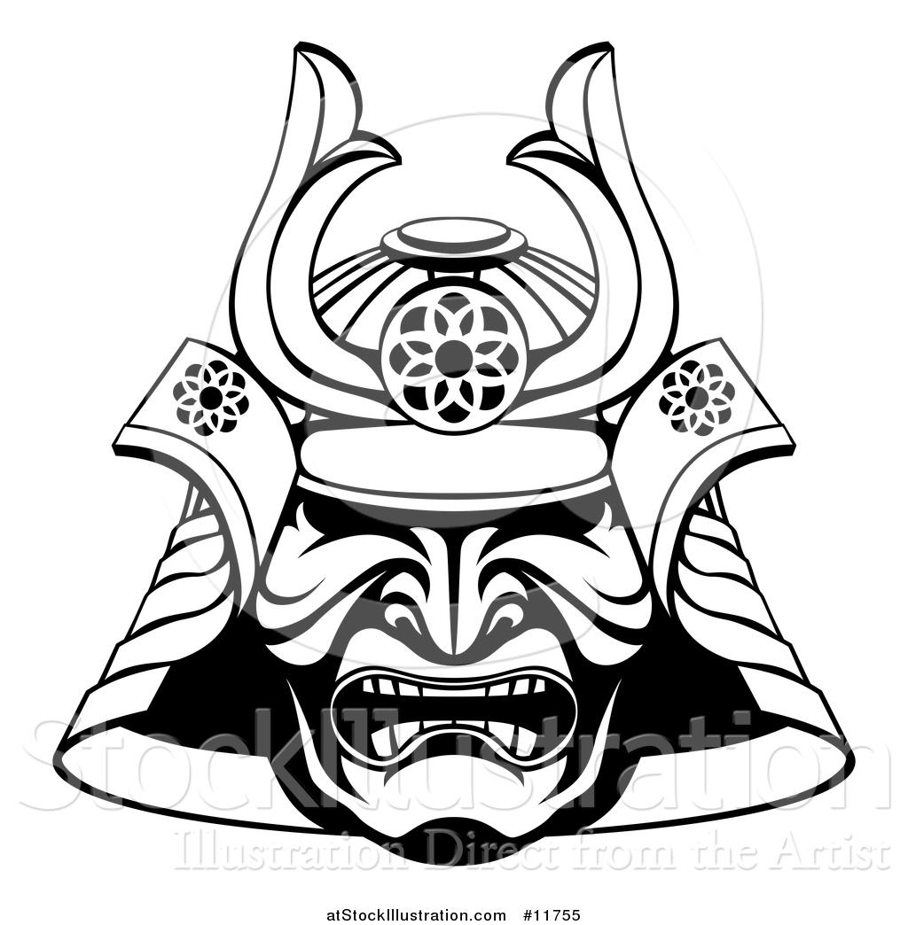 Samurai Armor Illustrations