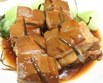 台北 参和院 豚の角煮