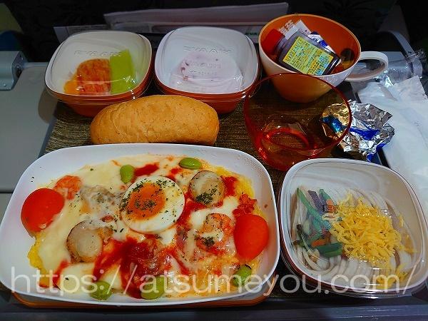 エバー航空 機内食