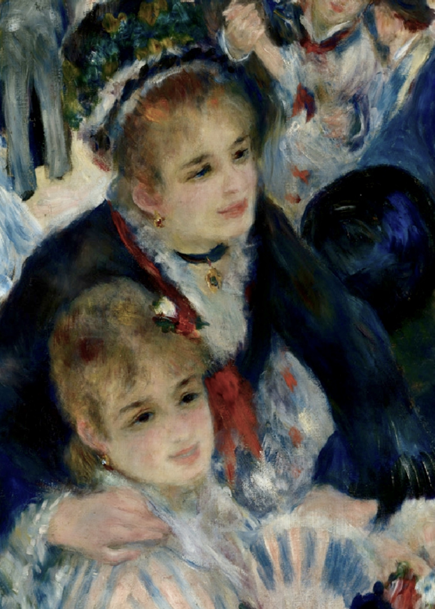 Le Bal Du Moulin De La Galette : moulin, galette, Pierre-Auguste, Renoir:, Moulin, Galette, (1876), Sunnyside, Where, Truth, Beauty