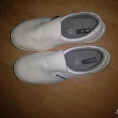 Shoes For Kitchen Coastal Table 图 转让一双全新厨房用工作鞋0685788077 法国小巴黎餐馆设备区 华人 之前买了一双白色厨房工作鞋 就试穿一下就没用过 42码 算是全新