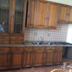 Kitchen Tables Sets How To Make An Outdoor 图 一套厨房加大理石桌子 没有电器 两个洗碗槽 炉子有 意大利拿波里 炉子有两盏火可用