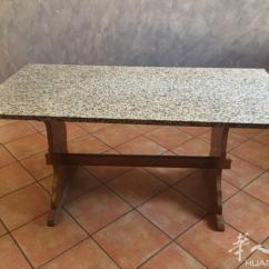 Kitchen Tables Sets Sink Dimensions 图 一套厨房加大理石桌子 没有电器 两个洗碗槽 炉子有 意大利拿波里 炉子有两盏火可用