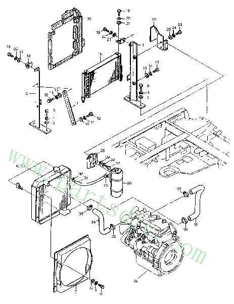 Tank Surge 894370-4500 Replacement Parts(Fits For DooSan
