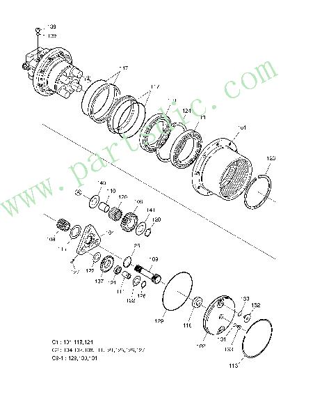 Body FZD-8388-1-01 Spare Parts(Suitable For DooSan SOLAR