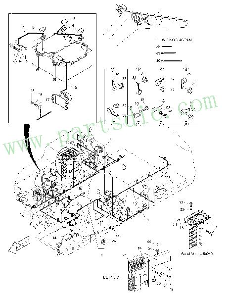 DooSan Excavator SOLAR 130LC-V Wiring Diagram 2599-1121A