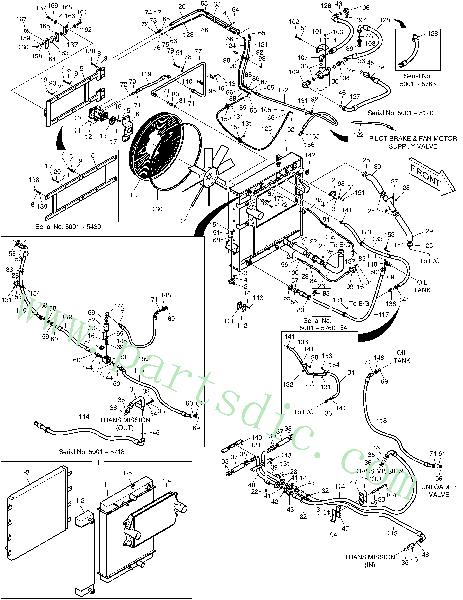 DooSan Wheel Loader DL400 Latch 143-00005 Replacement