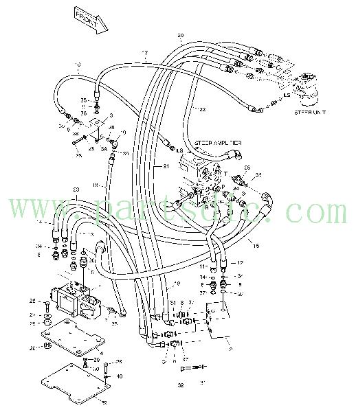 DooSan Wheel Loader DL400 Hose DS2013678(1KG) Spare Parts