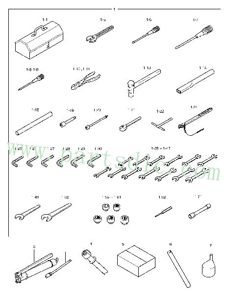 DooSan Wheel Loader MEGA 300-V (S/N 3001~) Socket M6