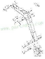 Wholesale Pin K1015760A Replacement Parts for DooSan DX27Z