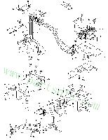 DooSan Wheel Loader MEGA 500-V TIER-II Pipe Pump K1038352