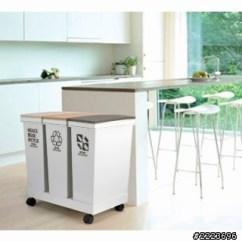 Kitchen Trash Bin Ceramic Drawer Pulls 廚房的廚餘與垃圾桶 有沒什麼有創意規劃或設計 第2頁 空間設計與 把垃圾桶安置在廚房外陽台用現成櫥櫃或是推車方式隔一道門 幾步路 煮飯要倒垃圾時候 再把垃圾桶推進來
