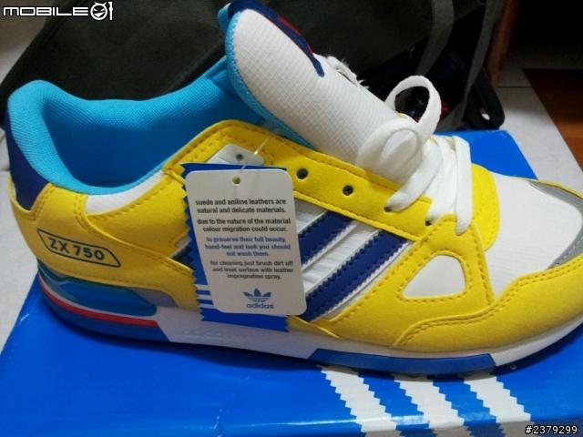 **請大大幫忙分辨Adidas ZX750真偽!!!不勝感激 - Mobile01