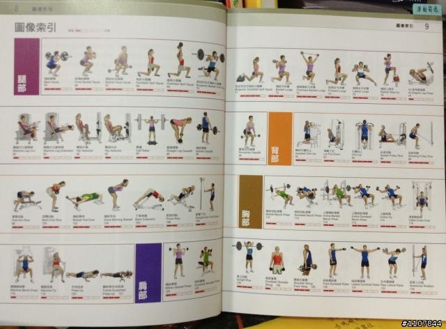 好書介紹 - 肌力訓練圖解聖經 - Mobile01