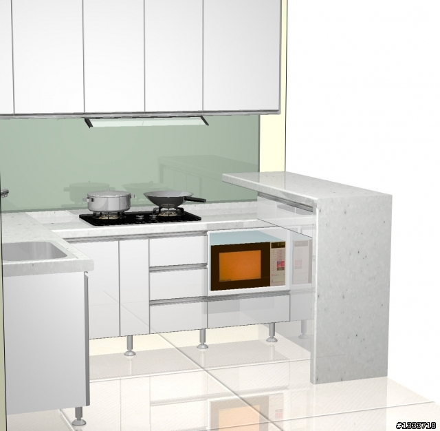 幫忙看一下廚房設計報價~ - Mobile01