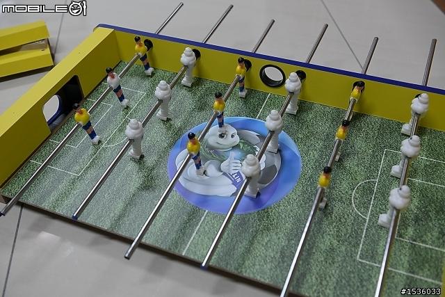 米其林mini foosball:熱烈迎接2014年世界杯足球賽 - Mobile01