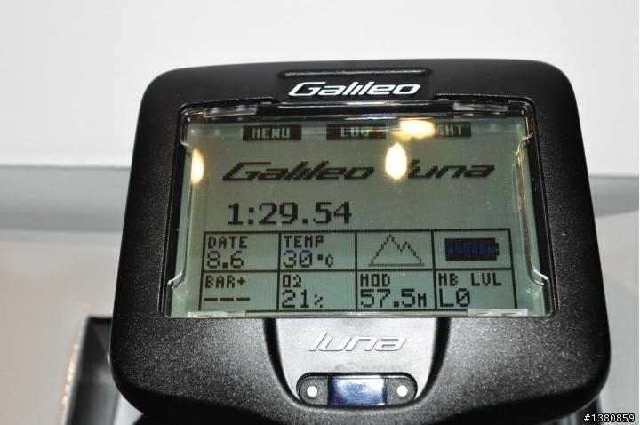 Uwatec Galileo luna 電腦表開箱文 - Mobile01