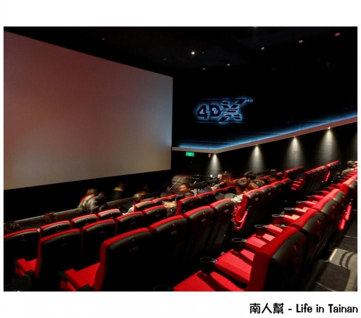 【臺南中西區-電影院】與電影0時差體驗 #臺南大遠百威秀影城 4DX# - Mobile01