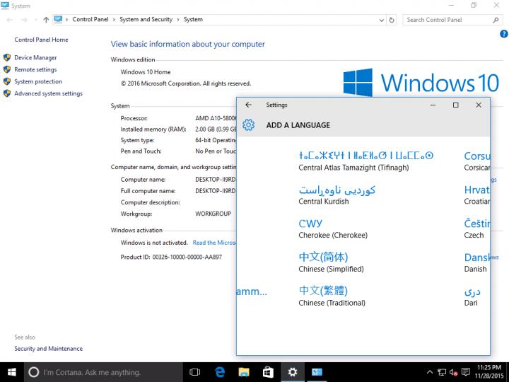 內建英文Windows 10家用版的筆電可以改灌成中文版嗎? - Mobile01