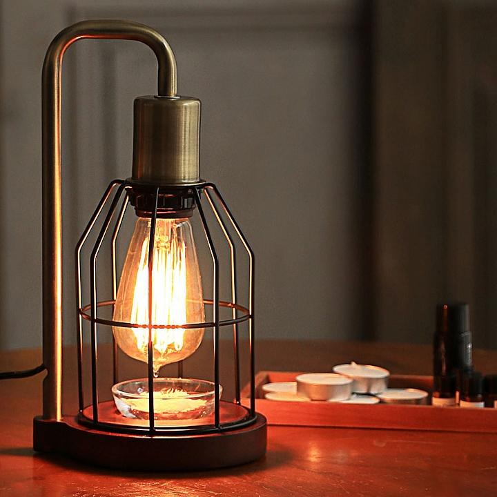 【新鮮】點一盞有香味的燈 阪和 HANWA LTD.推出愛迪生燈泡薰香燈(JE-AL01V) - Mobile01