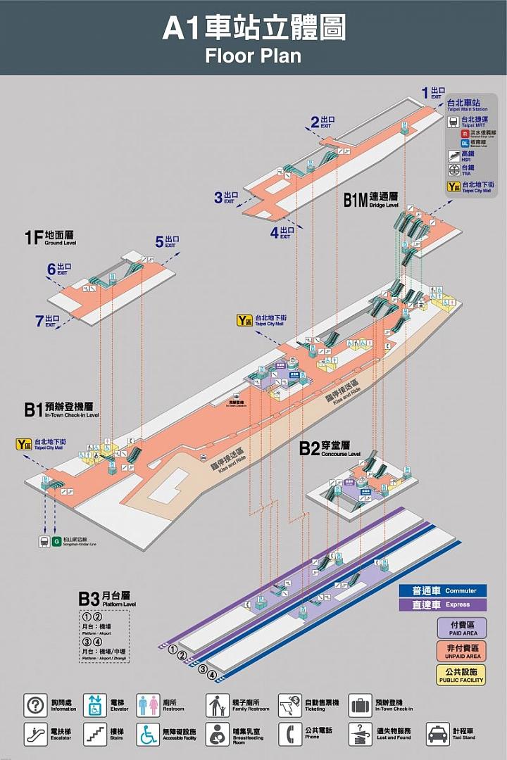 跟著小惡魔搭機捷!桃園機場捷運怎麼搭最方便 - Mobile01