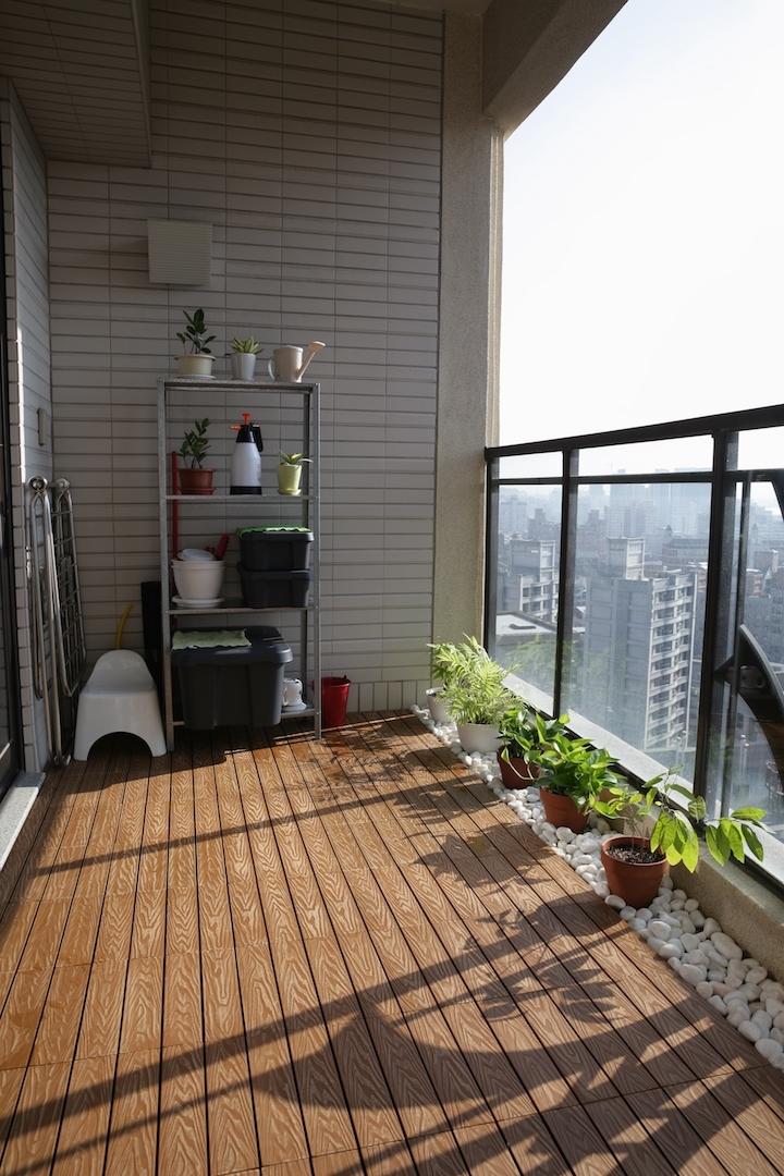 新手大樓陽臺佈置與種植植栽 - Mobile01