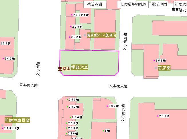 文心秀泰斜對面的旅館興建工程案 - Mobile01