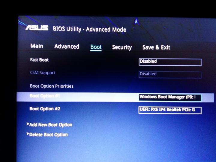 [教學] ASUS 主機板 BIOS UEFI 開機 改傳統開機 Legacy - Mobile01
