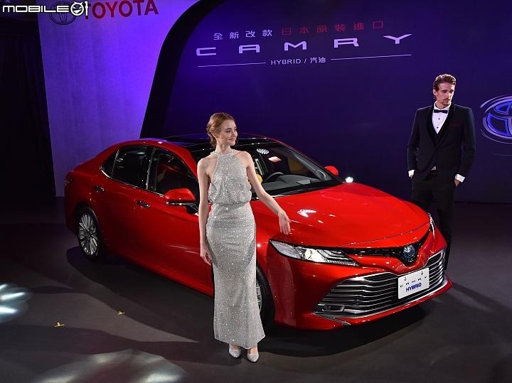 【採訪】Toyota大改款Camry進口上市,2.5自然進氣/Hybrid雙動力劃分106.9萬元起! - Mobile01