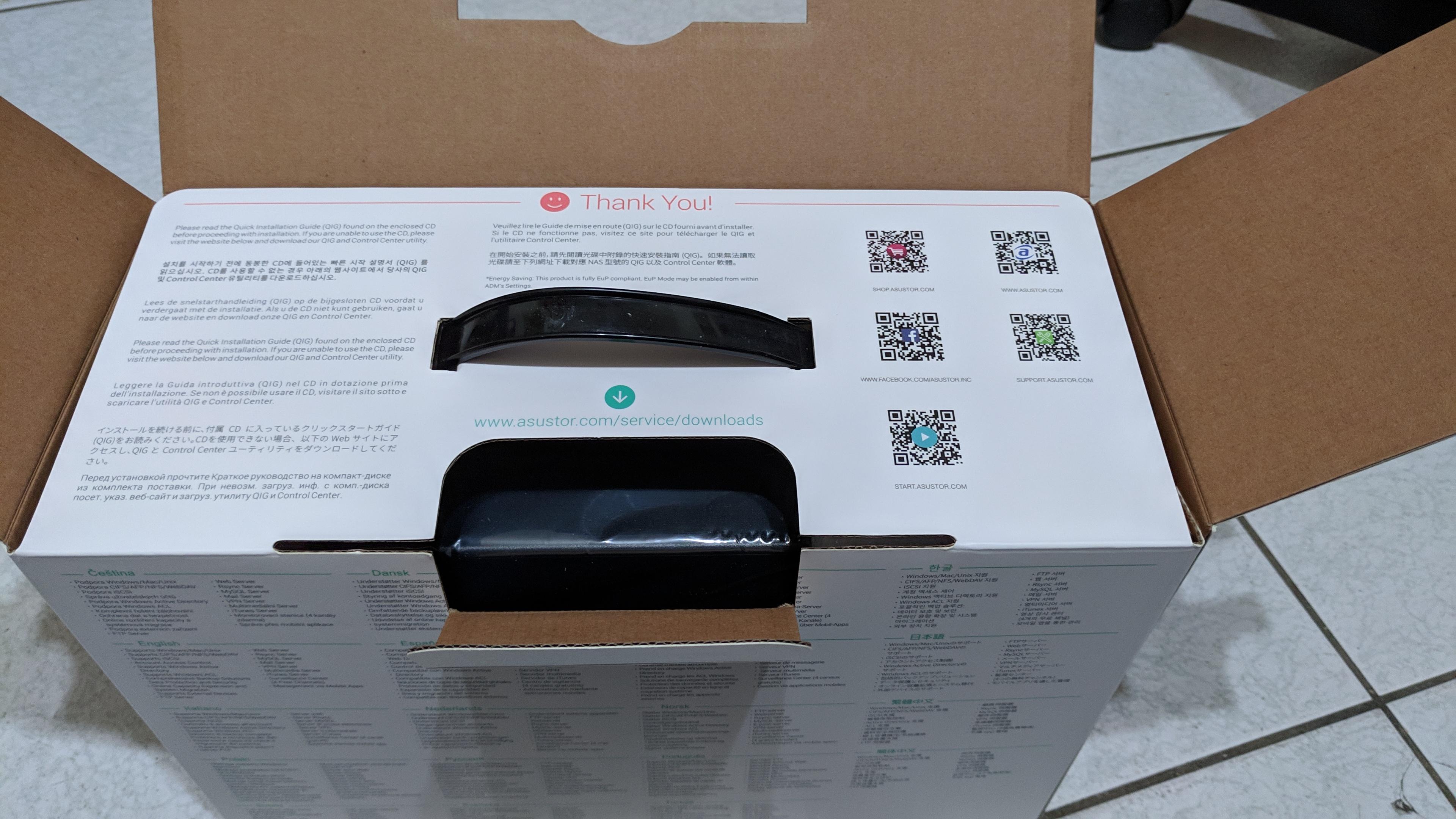 平價NAS AS1002T v2 不專業開箱測試 - Mobile01