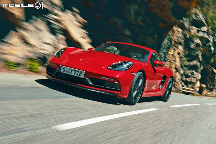 【快訊】自然進氣六缸才對味!Porsche 718 GTS改採4.0升水平對臥六缸設定 - Mobile01
