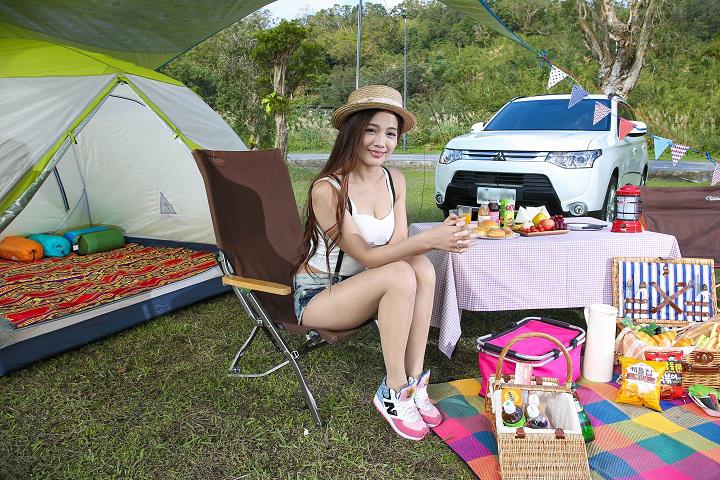 華麗露營風專屬!Mitsubishi Outlander大肚量輕鬆塞進所有裝備與歡笑 - 廣編特輯 - Mobile01