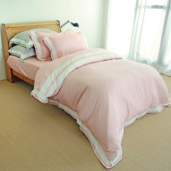 【米力寢具】高級精梳美國棉兩用被床包組(300織)-電|電電購