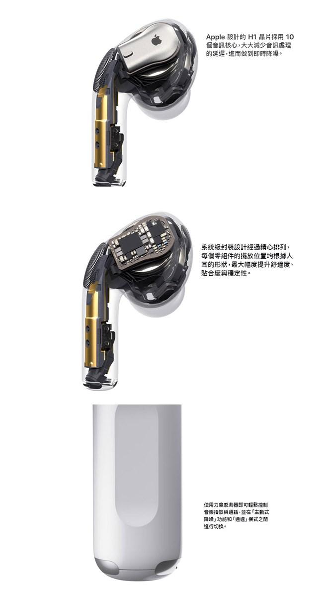 Apple Airpods Pro 入耳式無線藍芽耳機|電電購