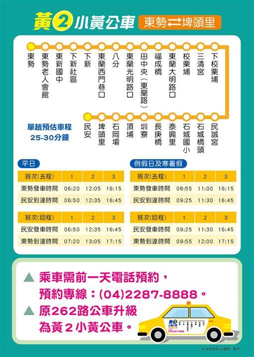 臺中第2條小黃公車上路了 東勢、石岡市民有福拉!   生活   三立新聞網 SETN.COM