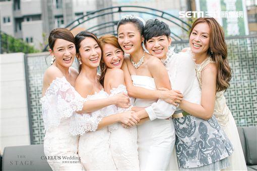 最後一次當伴娘!陳喬恩陪出嫁 趙小僑360度甜親劉亮佐 | 娛樂 | 三立新聞網 SETN.COM