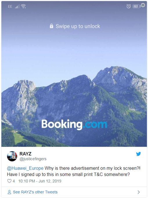 華為手機逼看業配?內建鎖定螢幕秀出「廣告」 用戶超傻眼 | 科技 | 三立新聞網 SETN.COM