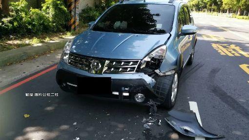 雙黃線違規迴轉!轎車遭撞竟要賠償 衰情侶嘆:根本賠不起   社會   三立新聞網 SETN.COM