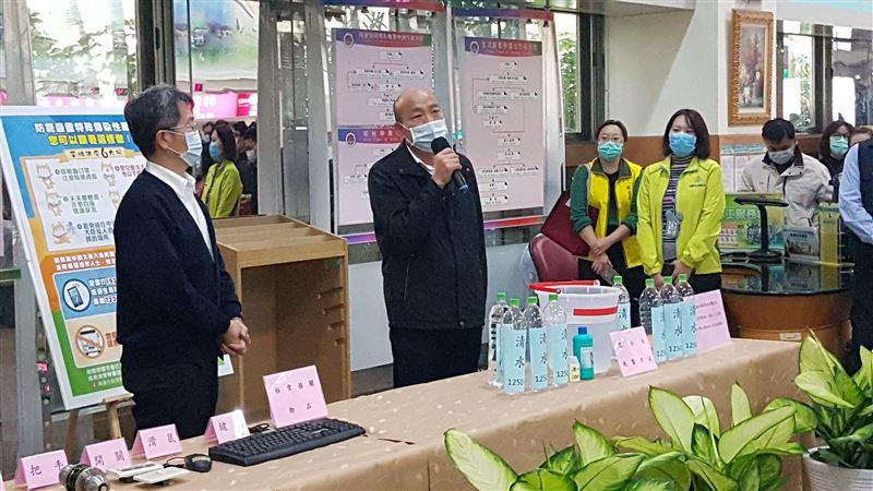和中央討口罩被酸髮夾彎 韓國瑜怨:被管制買都買不到   政治   三立新   寶島通訊
