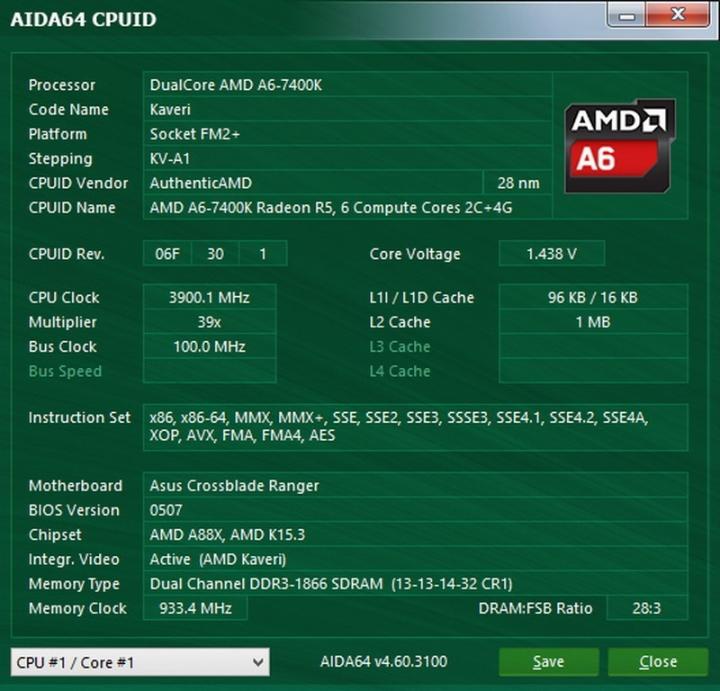 AMD A6-7400K 2核心 3.5Ghz 中央處理器 ( 無鎖倍頻 ),附原廠風扇 - Mobile01