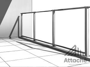 Framed Glass Balustrades New Zealand Diplomat