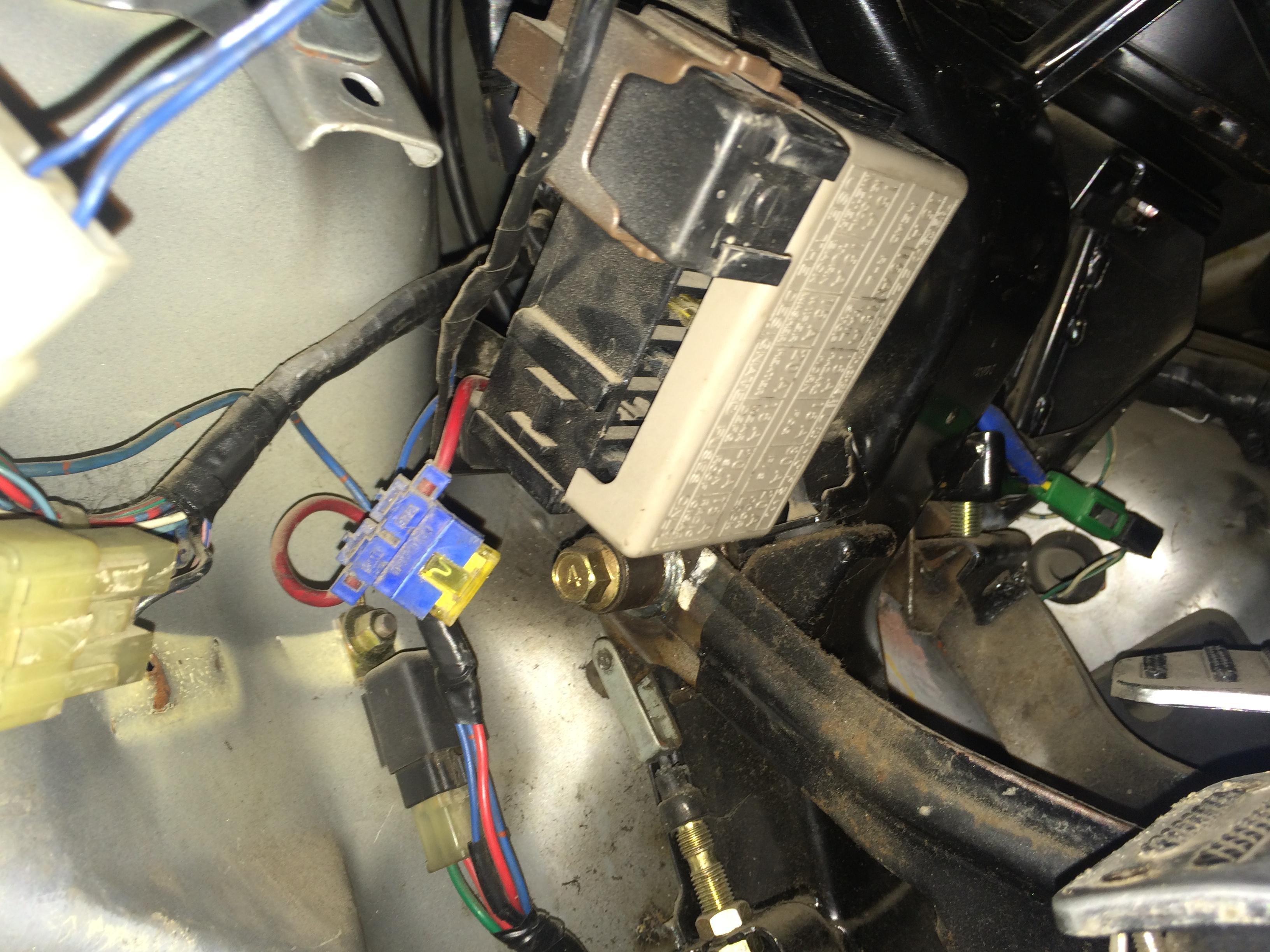medium resolution of 1996 suzuki carry fuse box wiring diagram a7 1996 mazda 626 fuse box 1996 suzuki carry fuse box