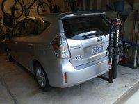 Bike rack for Prius v | PriusChat